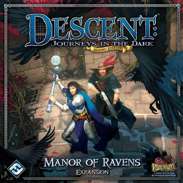 Descent: Journeys in the Dark (Second Edition) – Manor of Ravens - obrázek